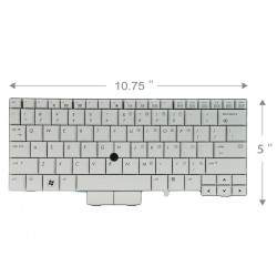 Keybaord laptop HP Elitebook 2740P کیبورد لپ تاب اچ پی