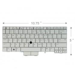 Keybaord laptop HP Elitebook 2730P کیبورد لپ تاب اچ پی