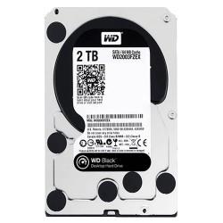هارد دیسک اینترنال وسترن دیجیتال 2 ترابایت مشکی WD2003FZEX