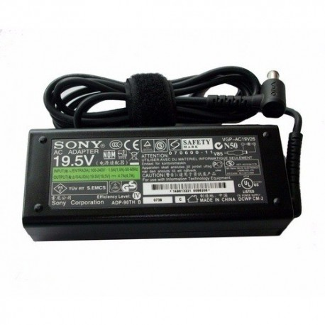 Sony VGN-FS780 series AC Adapter شارژر لپ تاپ سونی وایو