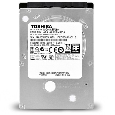 Toshiba 2.5 Inch Internal Hard - 500GB هارد لپ تاپ